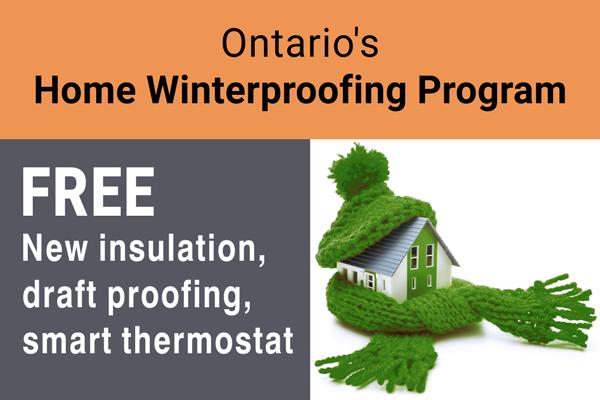 Ontario Home Winterproofing Program