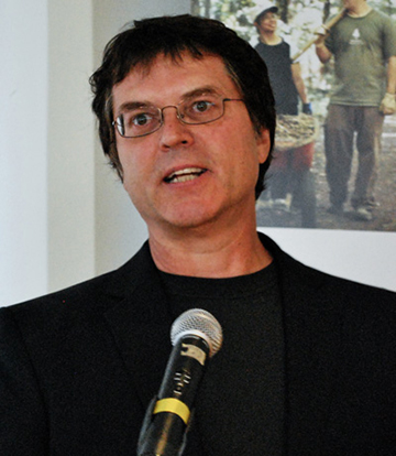 image: Brent Kopperson, Founder and Executive Director of Windfall Centre